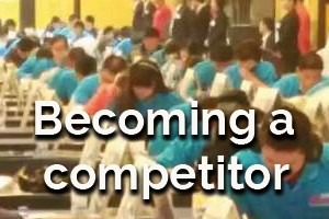 Becoming a competitor
